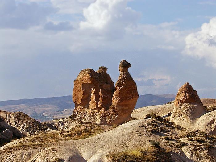 The Camel Rock. Cappadicia, Turkey.