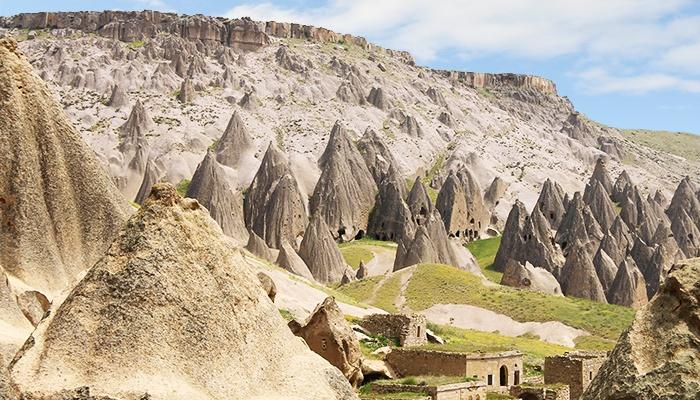 The Goreme Open Air Museum. Cappadocia, Turkey.
