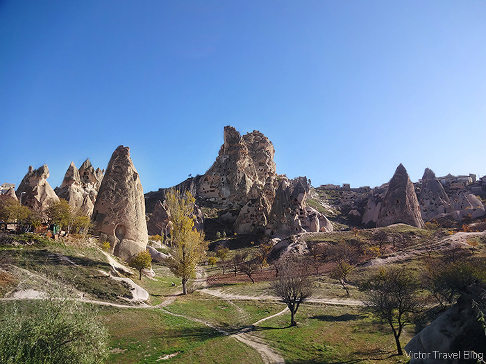 The Goreme Open Air Museum. Cappadocia, Turkey.