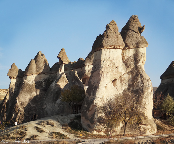 The valley of fairy chimneys. Cappadocia, Turkey.