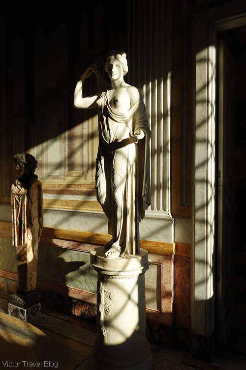 The Museo Borghese. Rome, Italy.
