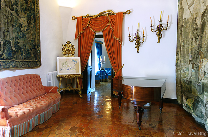 The house in Pubol, Catalunya, where Salvadore Dali's wife Gala lived.
