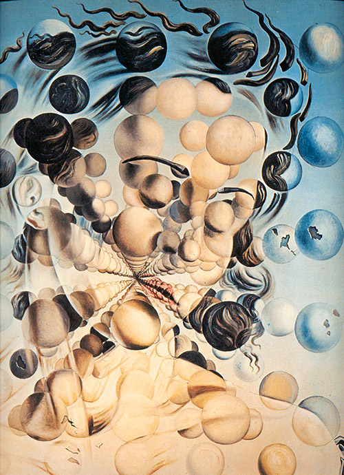 Galatea of the Spheres. The Salvador Dali Museum in Figueres, Catalonia, Spain.
