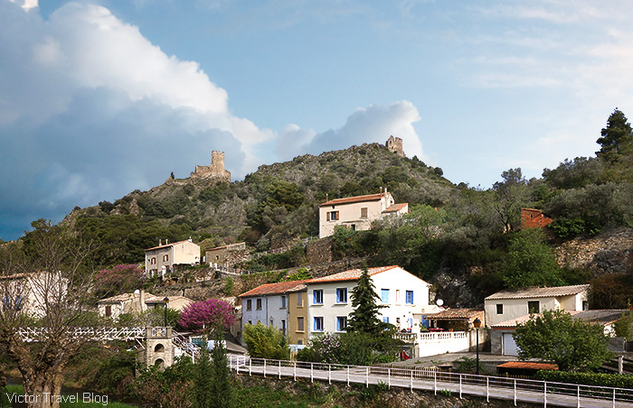 The village of Aude. Pays Cathare, Languedoc, France.