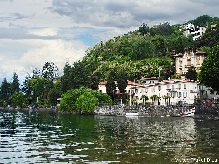 Camin Hotel Colmegna on Lake Maggiore, Italy.