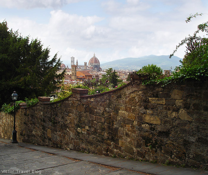 The city of Florence in Italy.