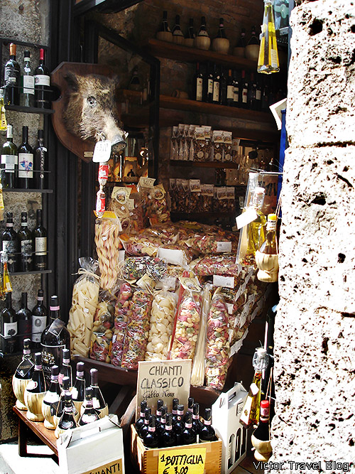 Gifts of Tuscany. Summer. San Gimignano. Italy.