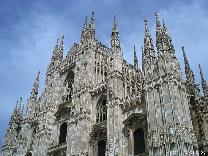 Duomo. Milan. Italy.