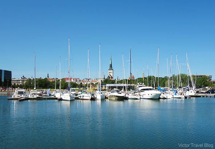 Sity marina, Tallinn, Estonia.
