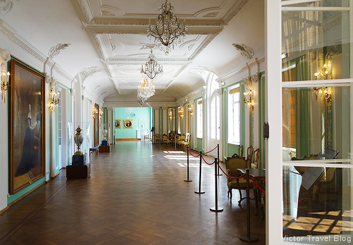 One of the halls of Kadriorg Palace. Tallinn, Estonia.