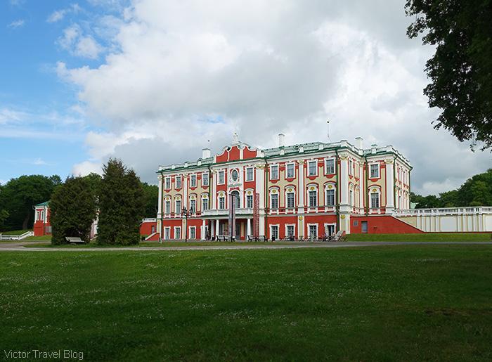 Kadriorg palace. Tallinn, Estonia.