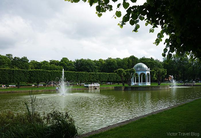 Kadriorg park, Tallinn, Estonia.