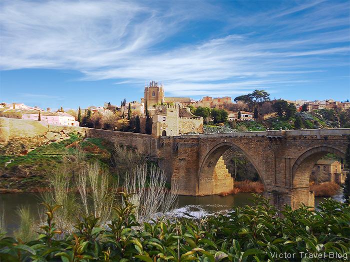 San Martin Bridge. Toledo, Spain.