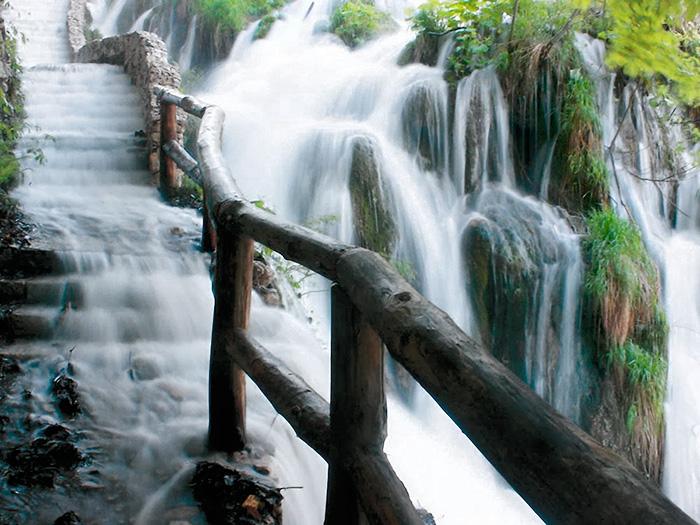 Plitvice Lake National Park. Croatia.