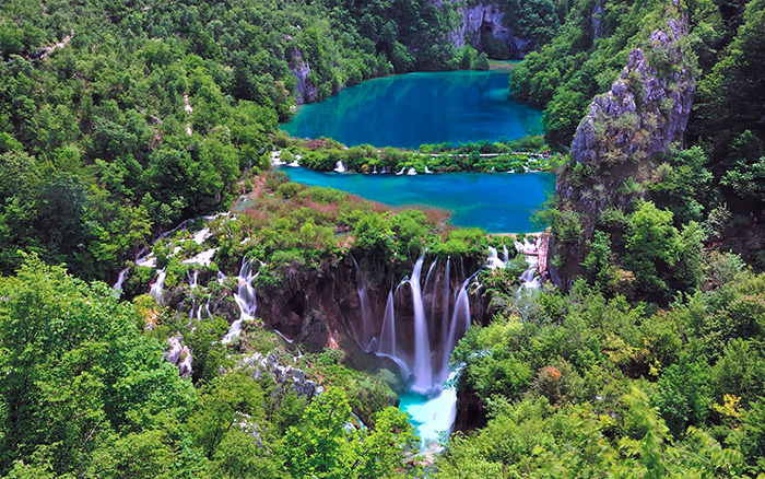 Plitvice Lake National Park. Croatia.