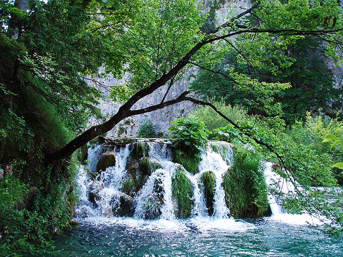 Plitvice Lakes National Park of Croatia.