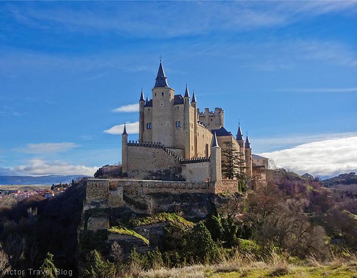 Alcazar of Segovia, Spain.