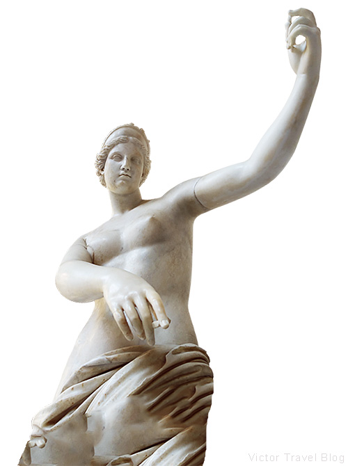 Aphrodite of Capua. Naples Archaeological Museum, Italy.