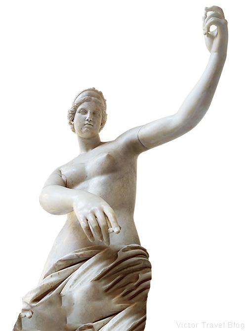 Aphrodite of Capua. Naples Archaeological Museum, Italy.