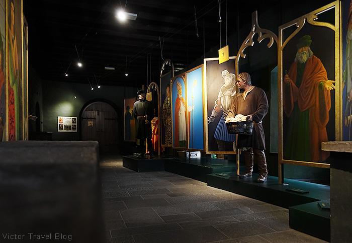 The museum exposition of Mauterndorf Castle. Lungau, Salzburg, Austria.
