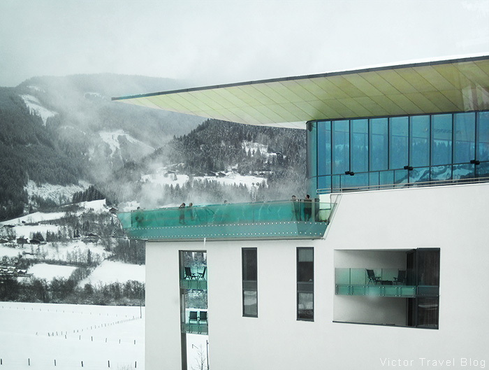 The Tauern Spa. Kaprun, Austria.
