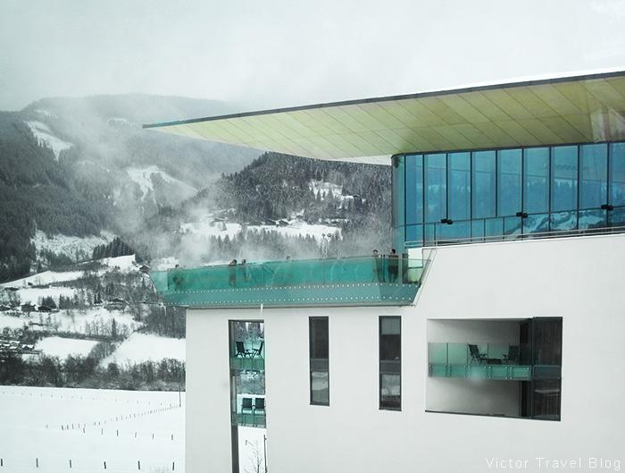 The Tauern Spa. Kaprun, Austria.
