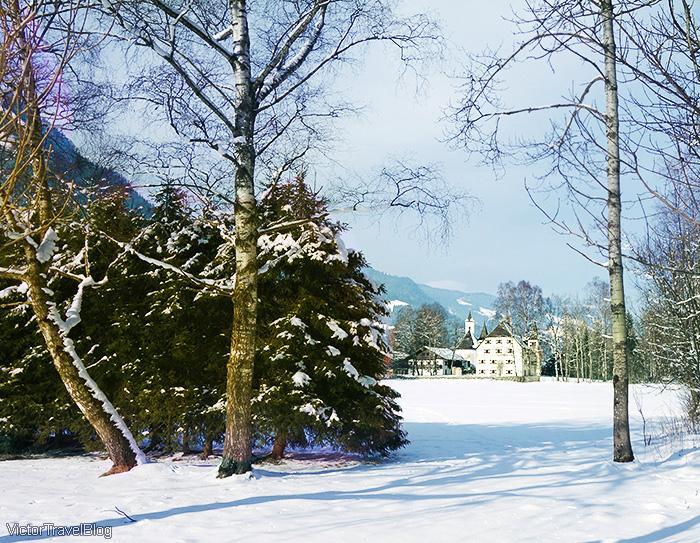 Schloss Prielau. Zell am See, Austria.