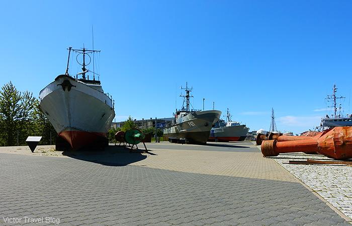 The Seaplane Harbour embankment, Tallinn, Estonia.