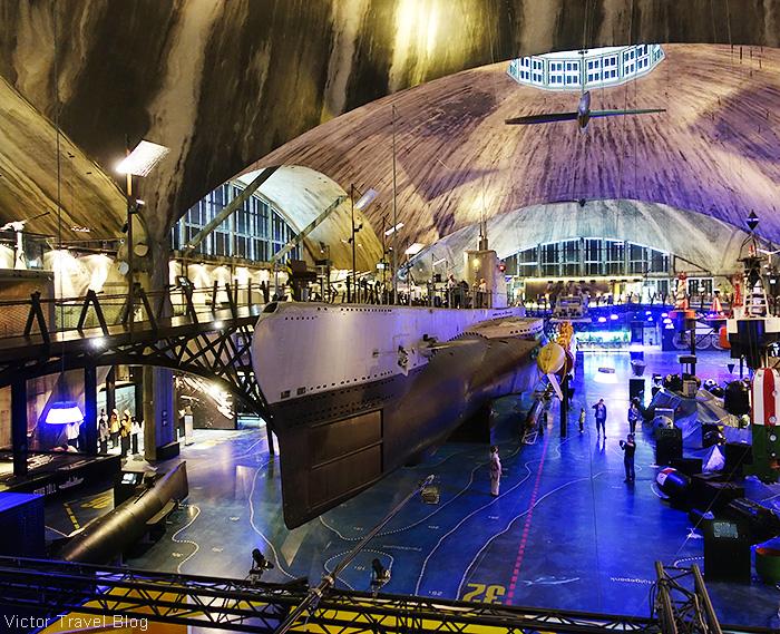 The Lembit submarine in the Estonian Maritime Museum, Tallinn.