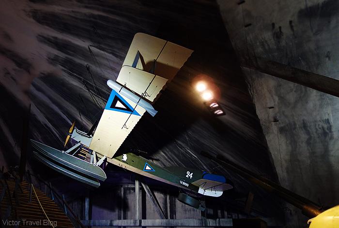 A seaplane. The Seaplane Harbour, Tallinn, Estonia.