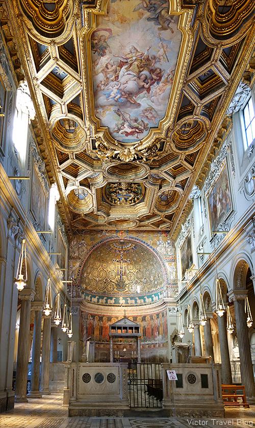 Basilica di San Clemente al Laterano, Rome, Italy.