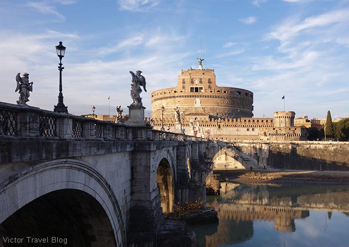 Castel Sant.Angelo. Rome, Italy.