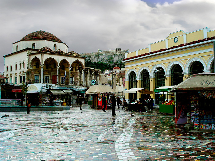 Plaka, Athens, Greece.
