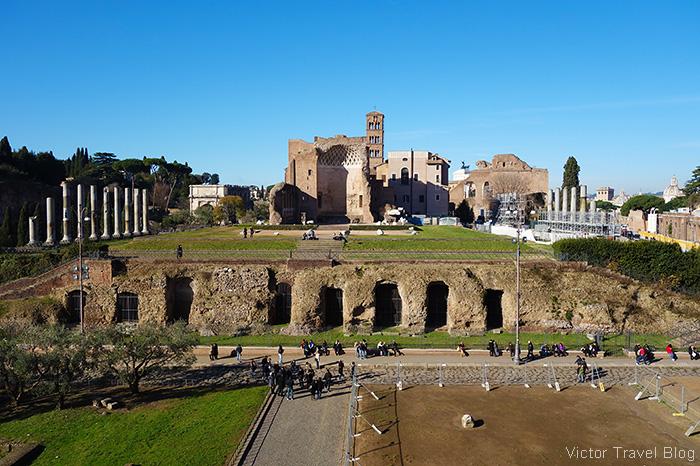 The Roman Forum. Rome, Italy.