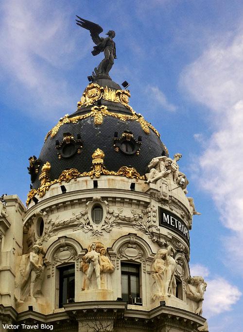 Metropol Hotel. Madrid. Spain.