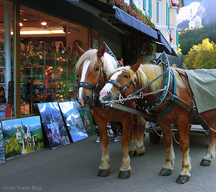 Hohenschwangau, Bavaria, Germany.