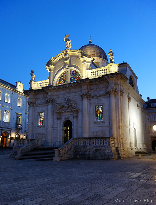Crkva sv. Vlaha (Church of Saint Blaise), Dubrovnik, Croatia.