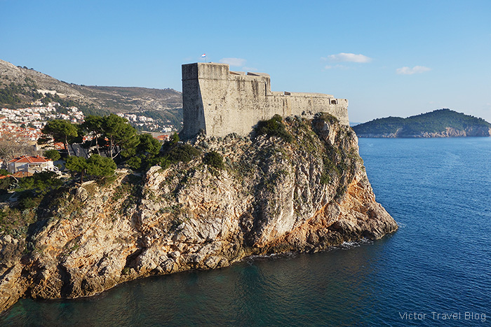 The Fort Lovrijenac, Dubrovnik, Croatia.