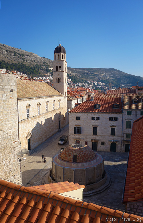 The Large Onofrio Fountain, Dubrovnik, Croatia.