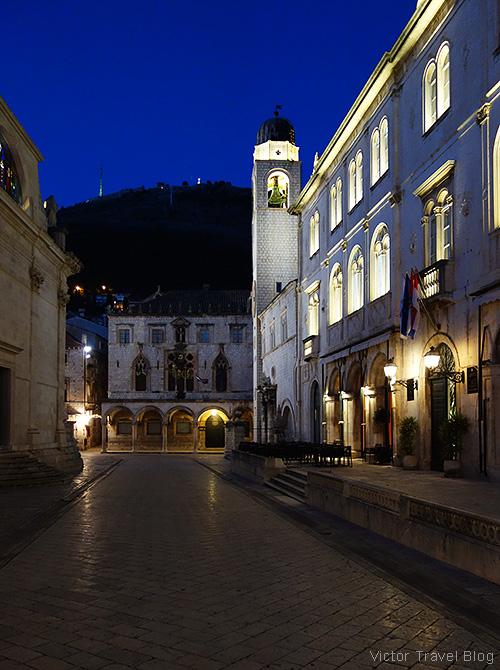 Sponza Palace, Dubrovnik, Croatia.
