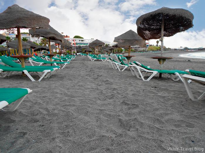Torviscas Playa, Tenerife, Canary Islands, Spain.