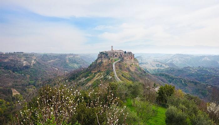 Civita di Bagnoregio, Italy.