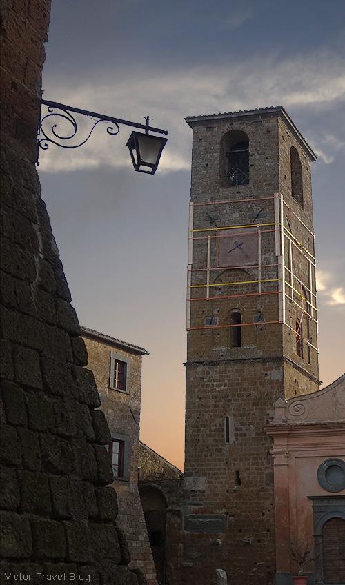 In Civita di Bagnoregio, Italy.