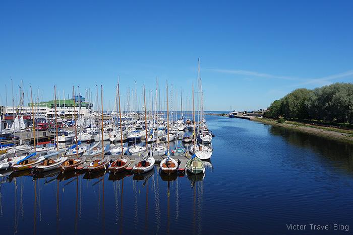 Pirita Harbour, Estonia.