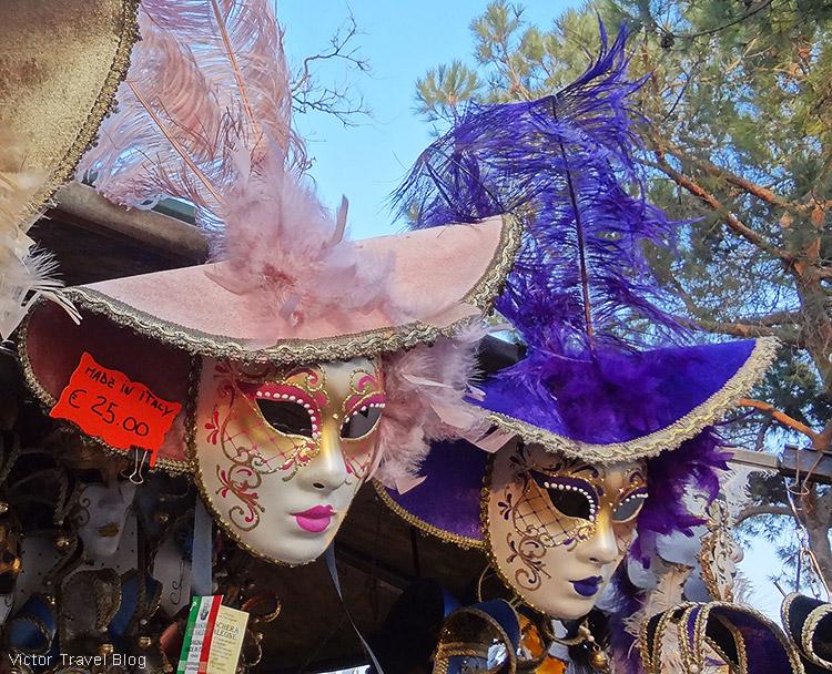 Venice mask shop.