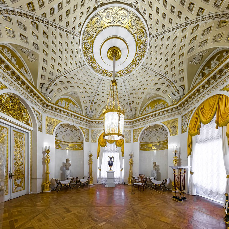 The Hall of War. The Pavlovsk Palace, Pavlovsk, Russia.