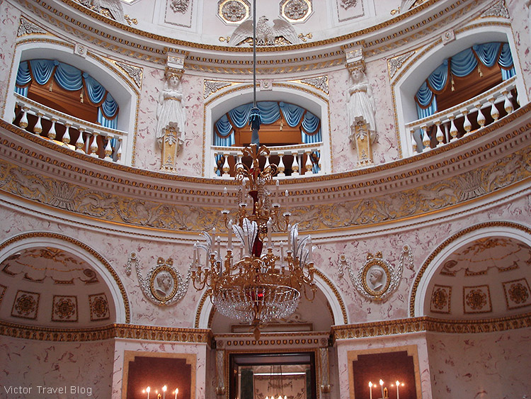 The Italian Hall. The Pavlovsk Palace, Pavlovsk, Russia.