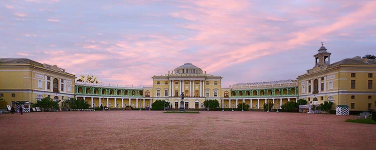 Pavlovsk Palace, Pavlovsk, Russia.