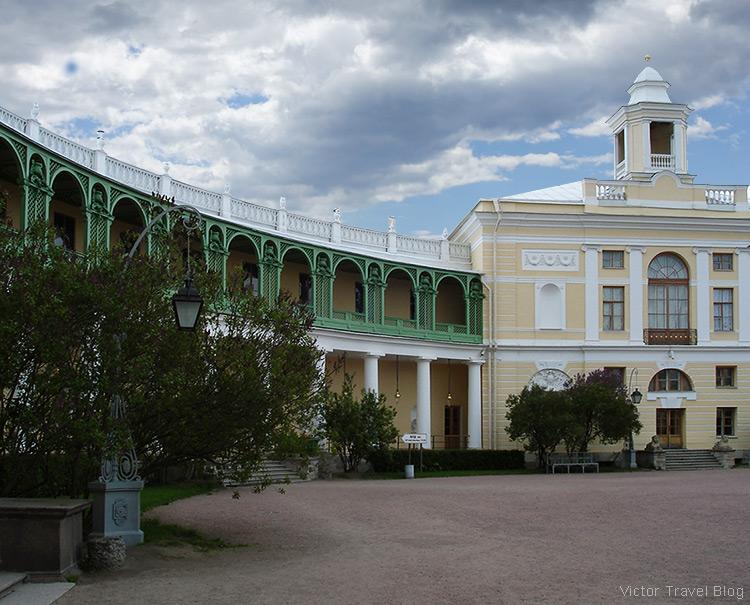 The Pavlovsk Palace, Pavlovsk, Russia.