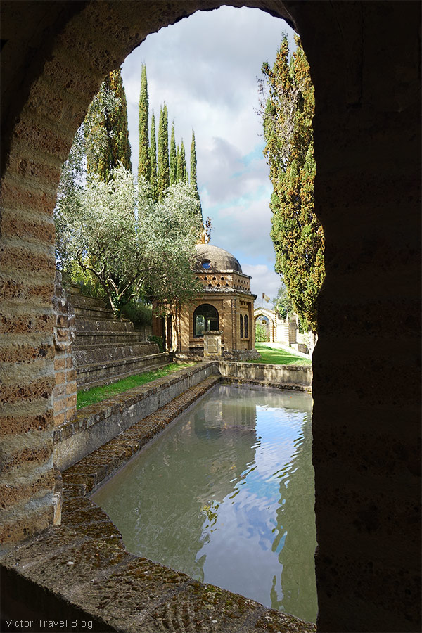 The ideal city of La Scarzuola, Umbria, Italy.